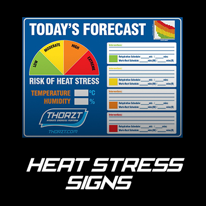 Heat Stress Signs