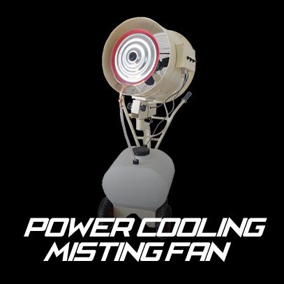 Power Cooler Misting Fan